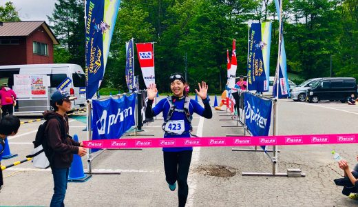 優勝しました!!~トレイルランニング22kmに出場~